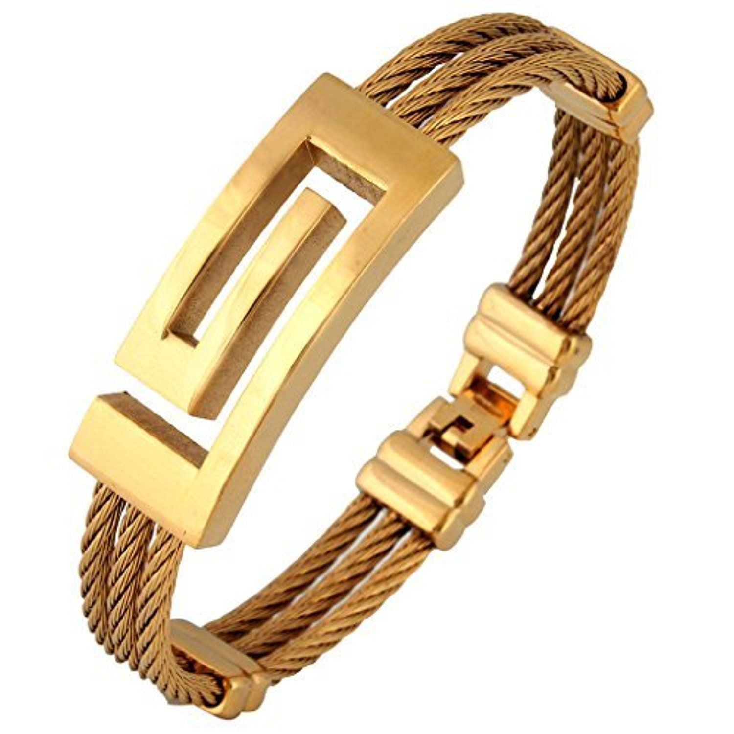 The jewelbox italian designer k gold plated surgical stainless