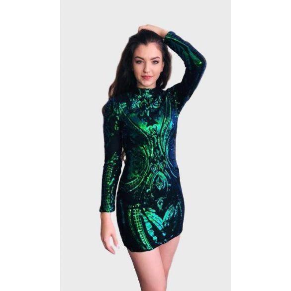 35d437ce06 Zöld flitteres Azaka koktélruha | Stílusikon shop | Dresses, Fashion ...