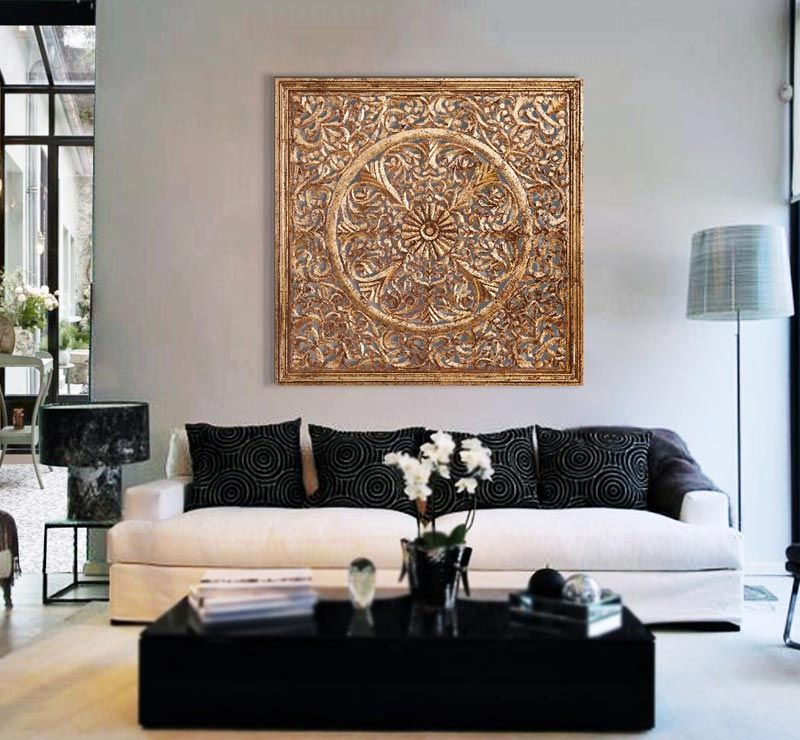 Cuadros para encima del sofa decoracion pinterest decoraci n hogar decoraci n moderna y sof - Cuadros estilo colonial ...