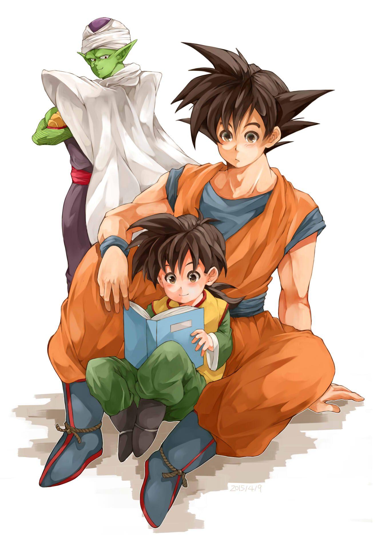 Piccolo Goku Gohan Dragon Ball Art Dragon Ball Super Dragon Ball Z