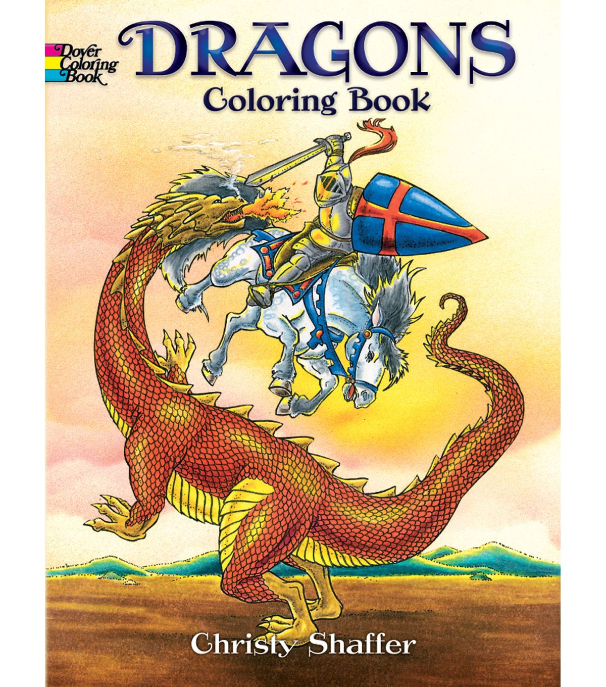 Adult Coloring Book - Dover Publications Dragons
