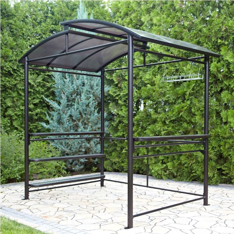 Attirant Exterior: Graceful Living Accents Grill Gazebo Bar Stools From Grill Gazebo  For Backyard