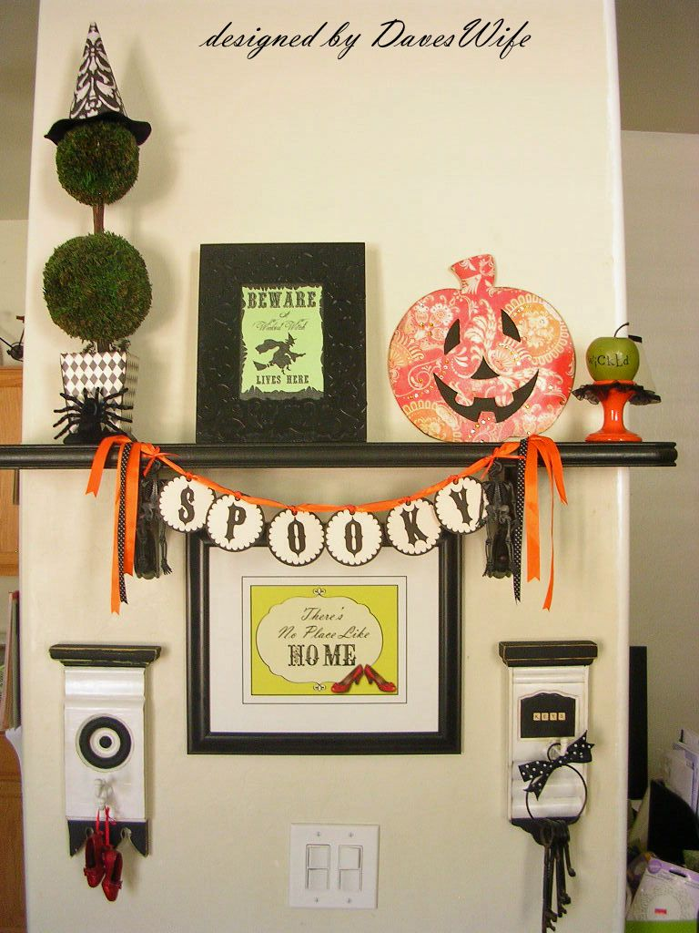the Diary of DavesWife {designed by DavesWife} Wizard of Oz-esque - Wizard Of Oz Halloween Decorations