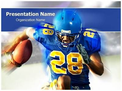 download our professionally designed football player ppt template, Presentation templates