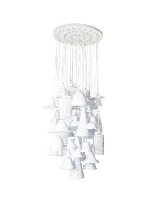 Pendant Lamp Melange Grande White