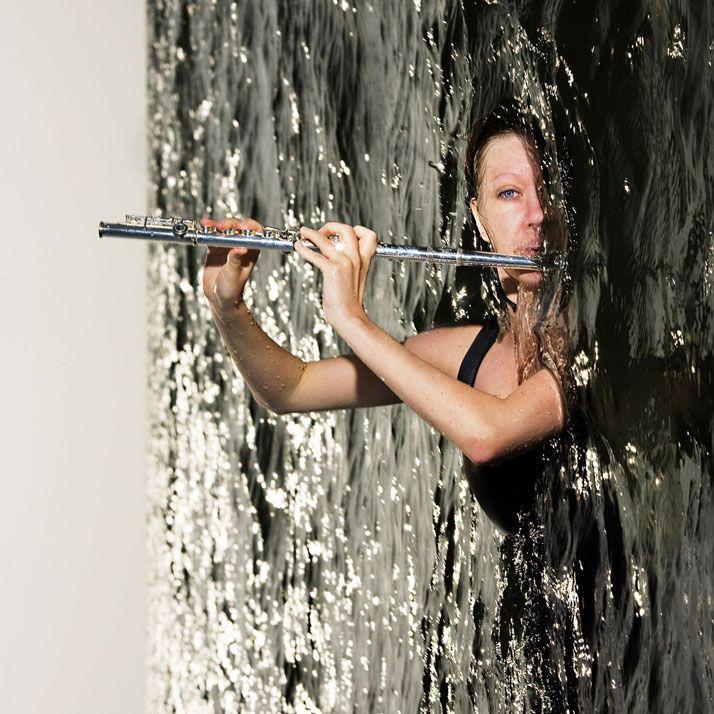 Toril Vik, Norwegean flutist | photo © Nikolaj Lund