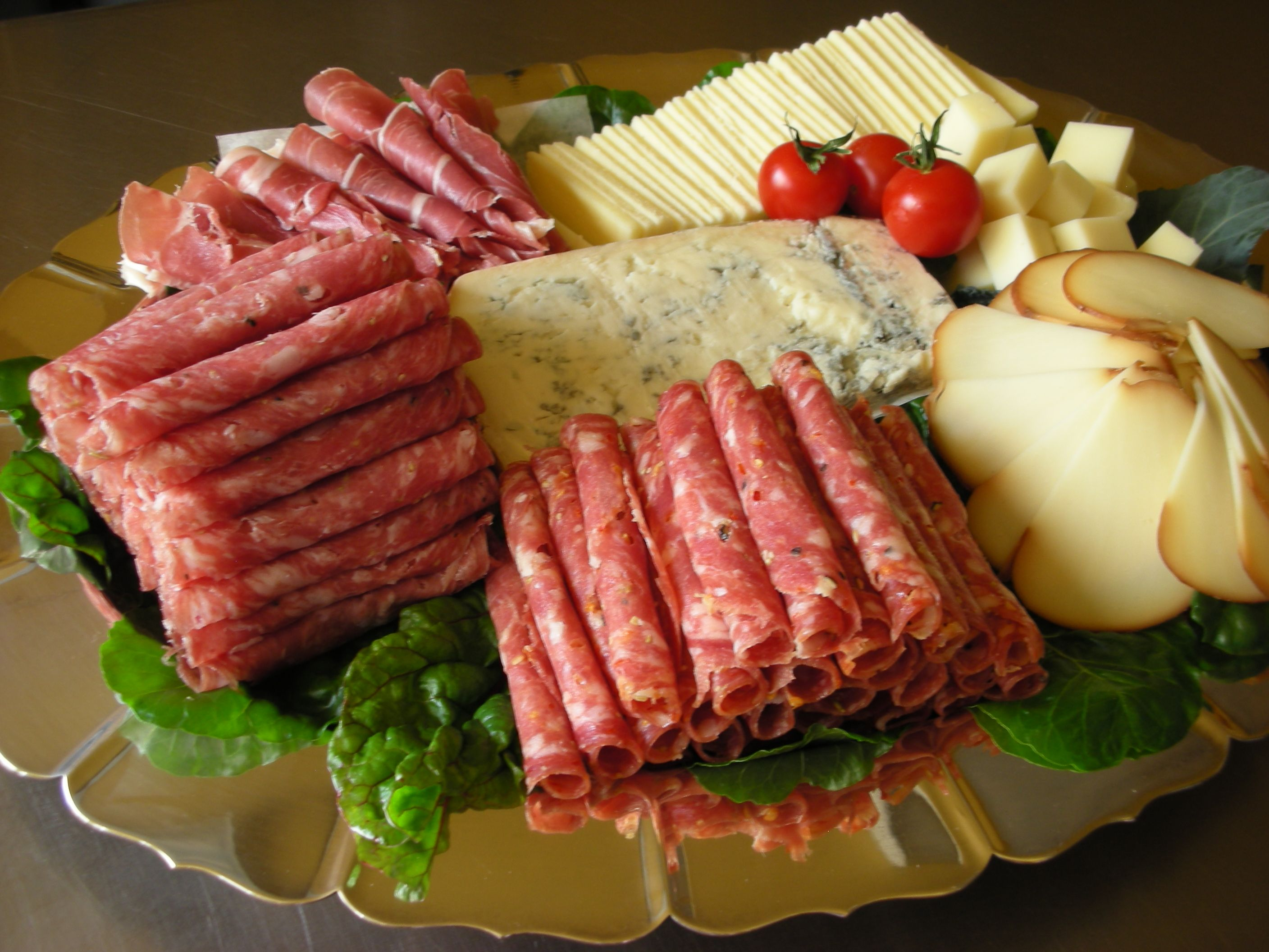 Image result for cheese and salami plate