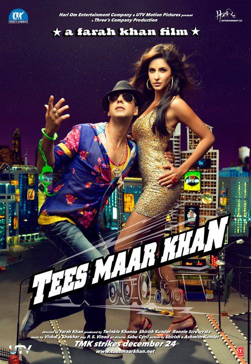 Tees Maar Khan 2010 Hindi 720p 1.3GB NF WEBRip AAC MKV