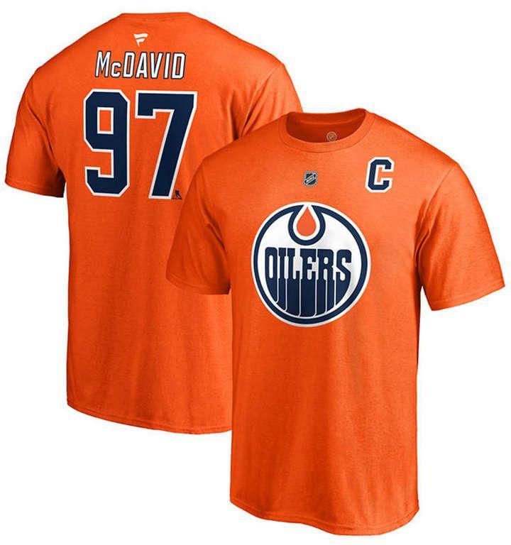 online store 3c6a5 2ede1 Majestic Men Connor McDavid Edmonton Oilers Authentic Stack ...
