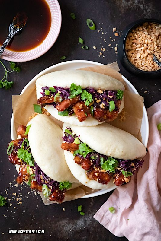 Photo of Gua Bao Burger: Bao Buns recipe with Thermomix variant – Nicest Things