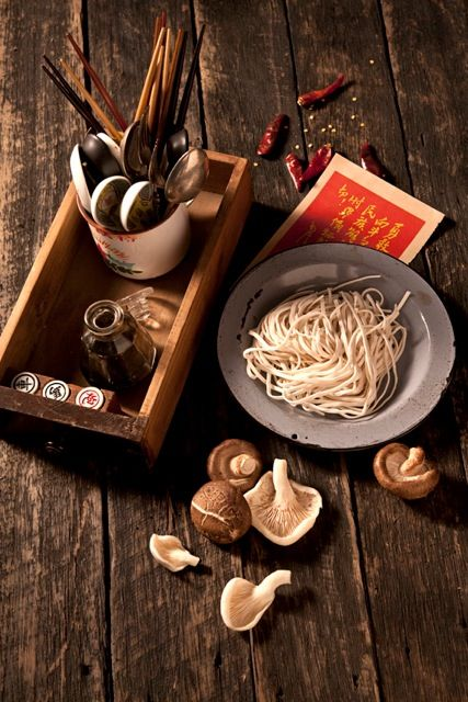 Chinese Antique Ingredients Props Food Ingredients Photography