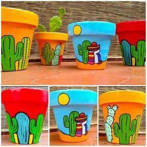 Saiba como fazer uma pintura bem criativa em vasos artesanais aí na sua casa, e com isso crie lindas peças decorativas, que podem ser dadas de presente. #flowerpot