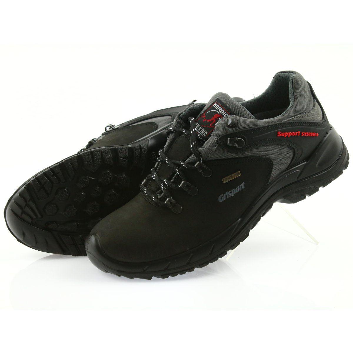 Sprandi Grisport Nordic Walking Czarne Z Membrana Nordic Walking Hiking Boots Timberland Boots