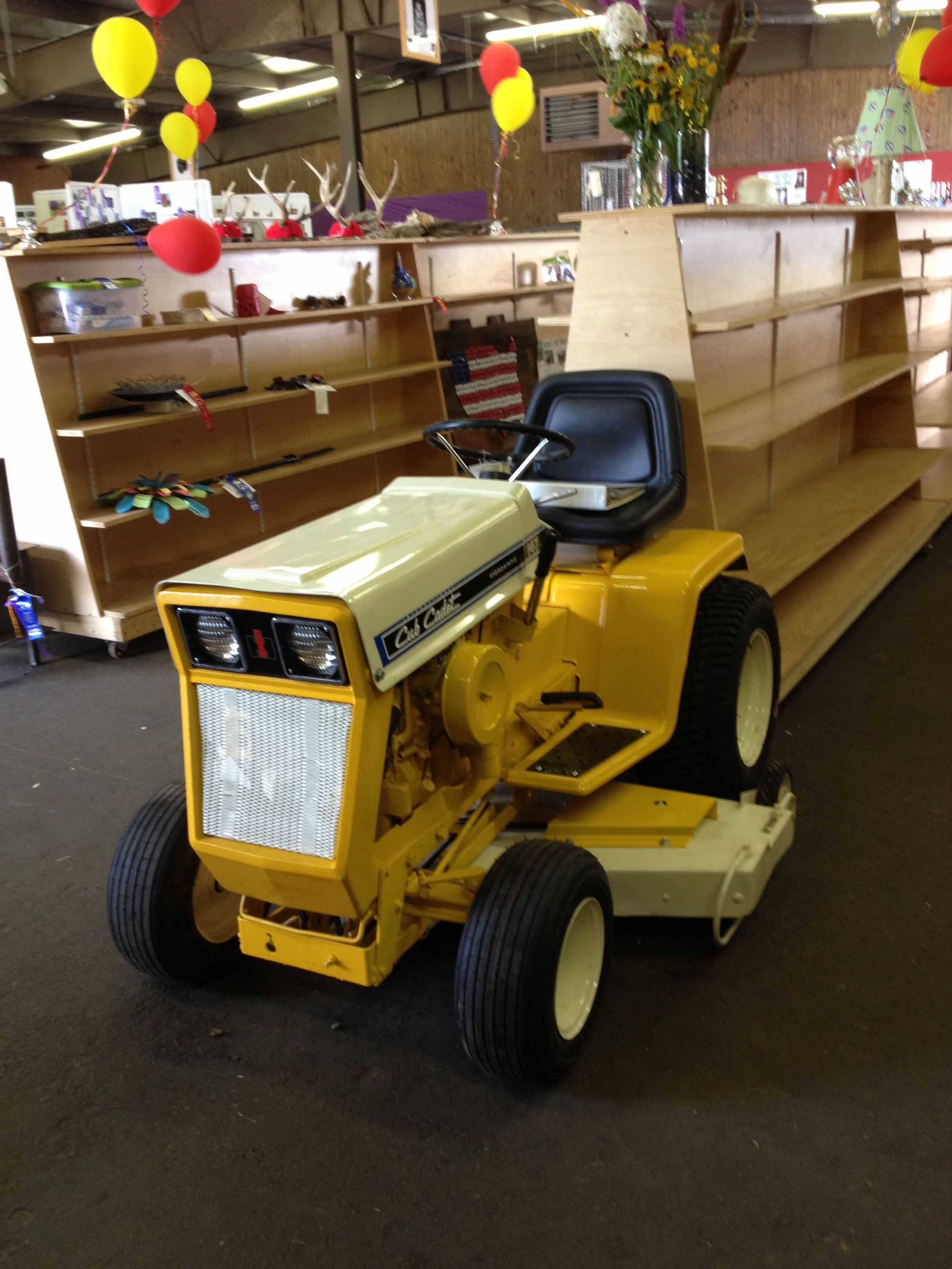My restored 1971 Cub Cadet 147 with 48 inch mower deck!! | Cub Cadet ...
