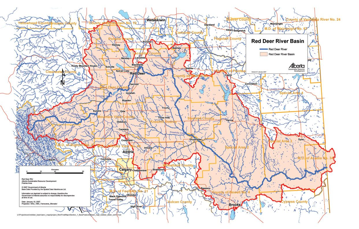 Image result for red deer map