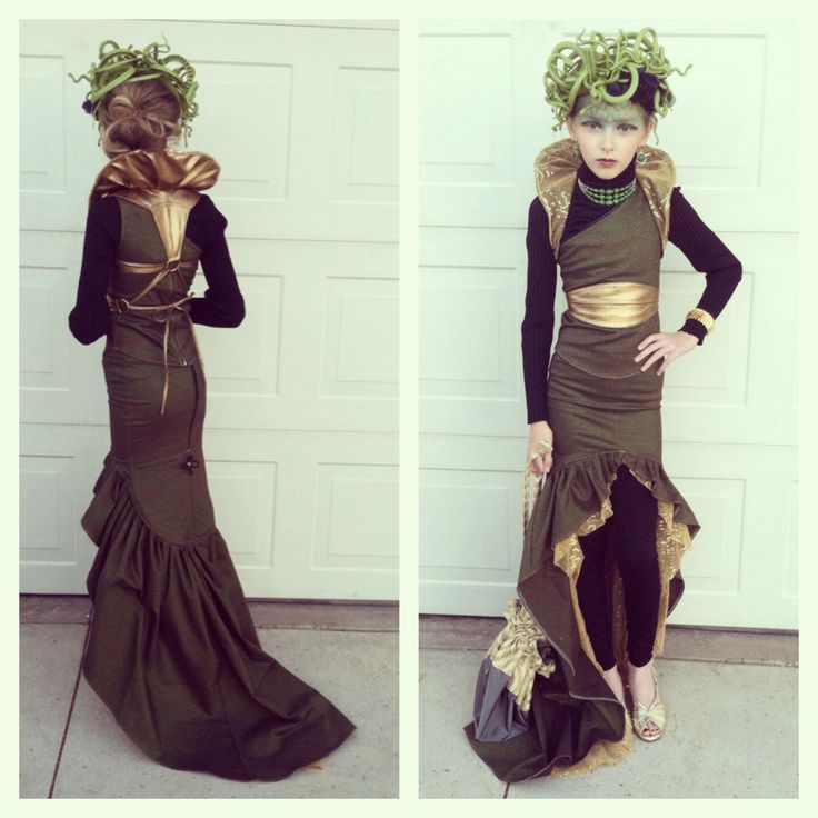 Homemade Medusa Costume | Homemade Medusa Halloween ...