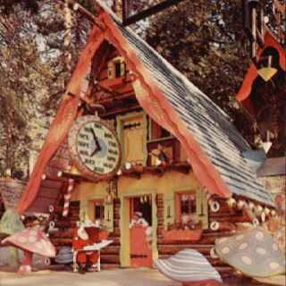 Santa S Village Scotts Valley Ca Santa S Village Village Storybook Homes