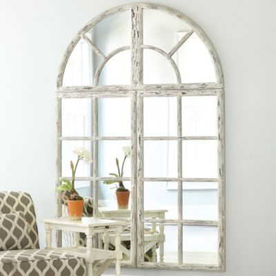 Grand Chateau Window Mirror Ballard Designs Window Mirror Arched Window Mirror Window Decor