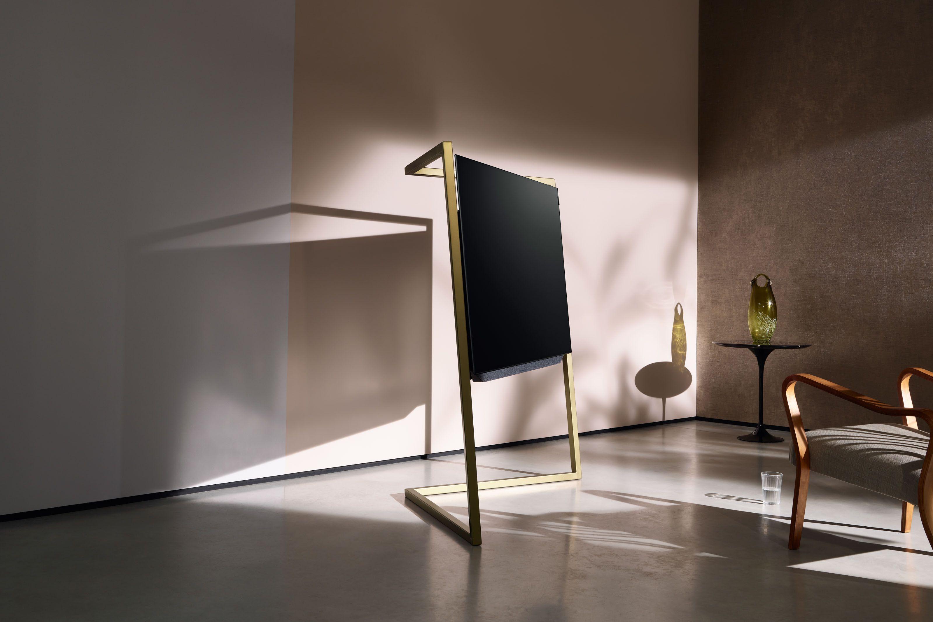 Oled Tv Inspired By Art Deco Loewe Technologies Bild 9 Tech  # Deco Table Tele Plus Homecimema