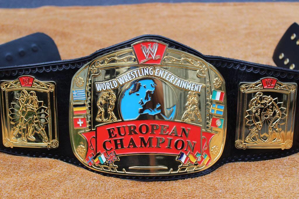 European Championship WWE European Champions...