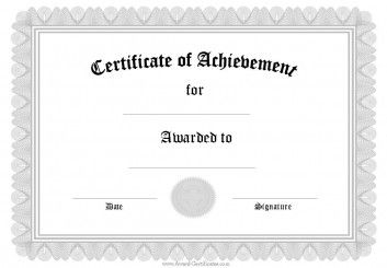 certificate of attainment template.html
