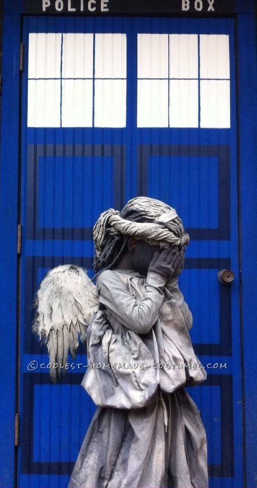 Littlest Weeping Angel Costume | Coolest Homemade Costumes ...