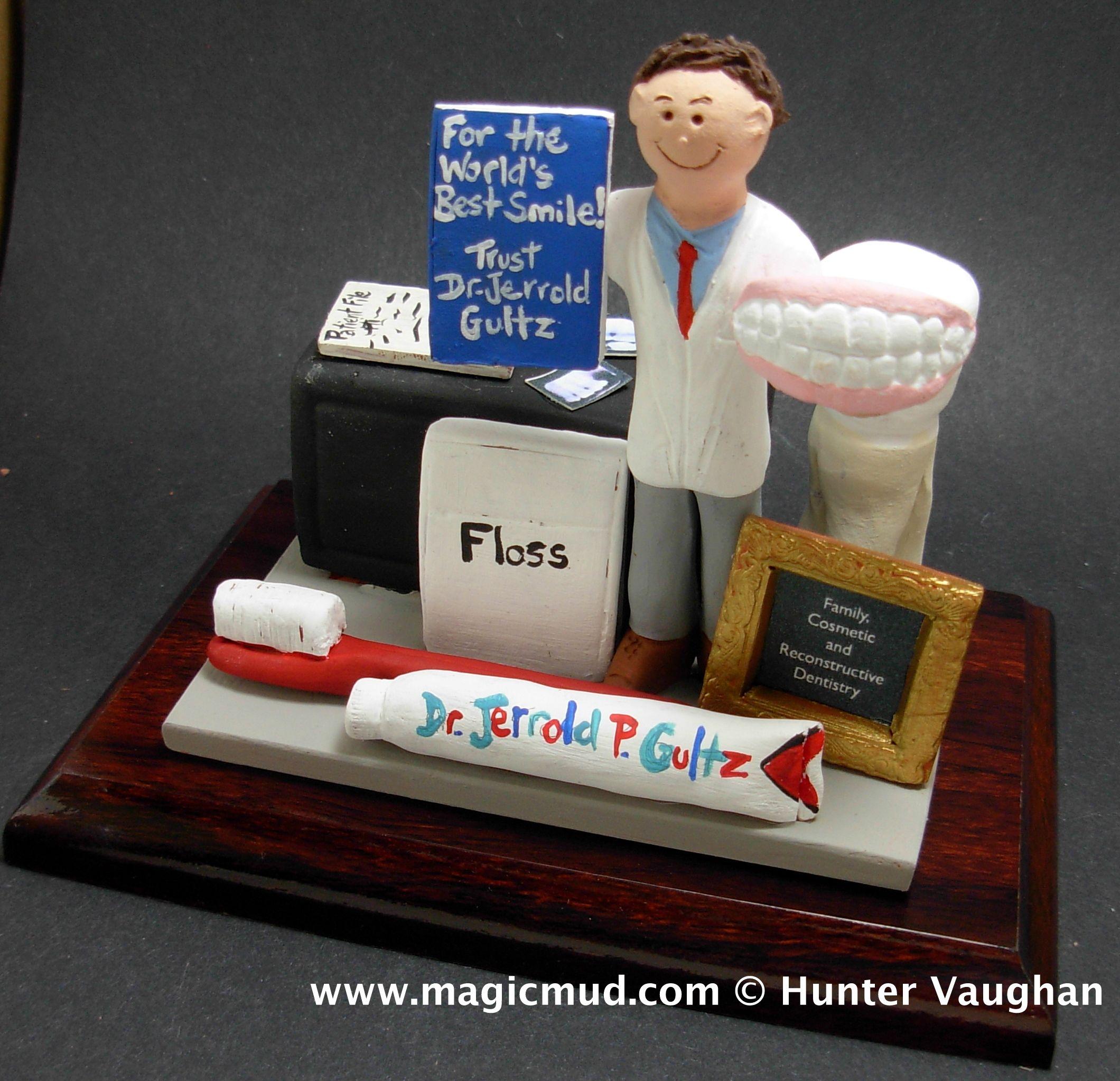 Custom made dentist gift any orthodontist periodontist