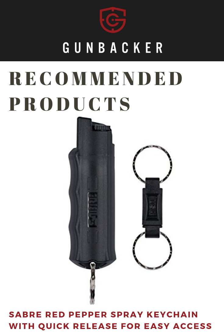 Give yourself extra protection with a pepper spray