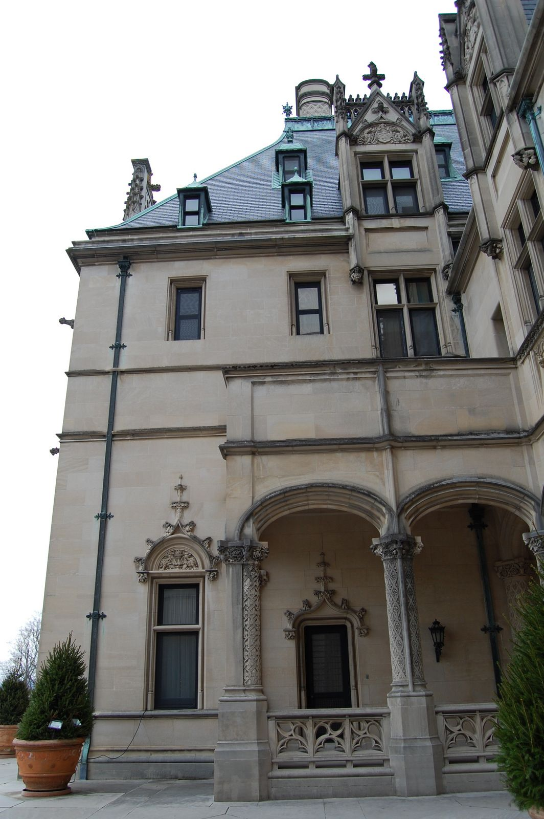 House 1st Floor Balcony Design: Biltmore House- 1st Floor- Porch Area Outside Of Library