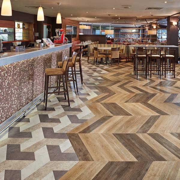 Karndean Flooring Lvt Korlok With Images Restaurant Flooring