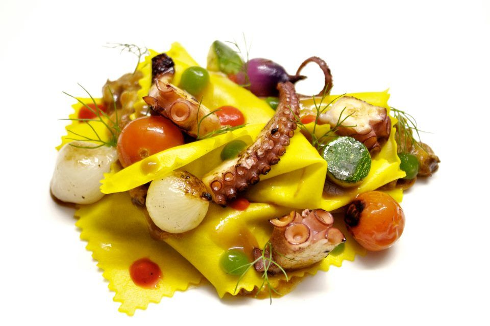 Free style #pasta from Gastroarte #Restaurant #NYC