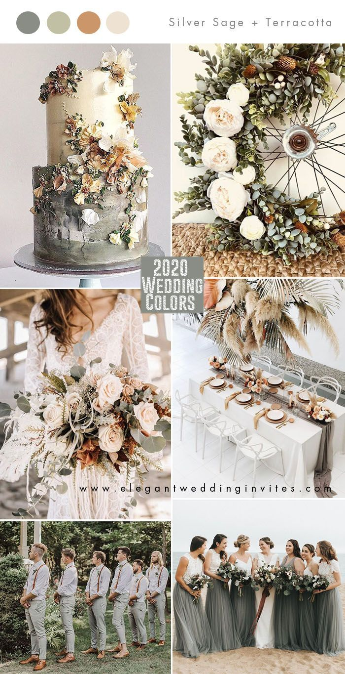 Top 10 Wedding Color Trends to Inspire in 2020