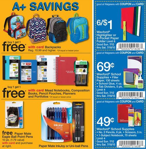 Here Are The Top Back To School Sales On School Supplies At Some
