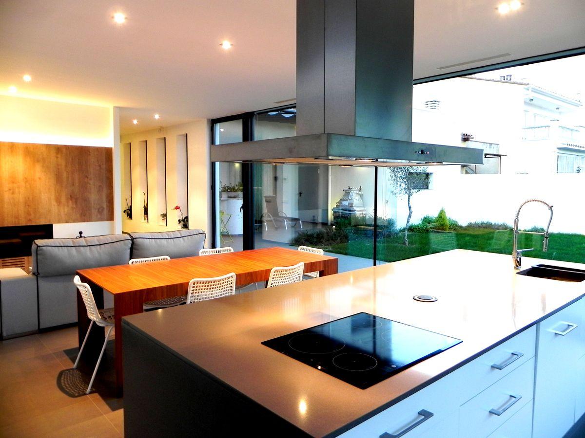 Comedor #Cocina #moderno #decoracion via @planreforma #encimeras ...