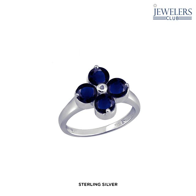 I found this incredible 3.35ctw Genuine Sapphire & Diamond Accent Clover Ring in Sterling Silver - Assorted Finishes on choxi.com for 90% off. Amazing deals at unbelievable prices...Love it!