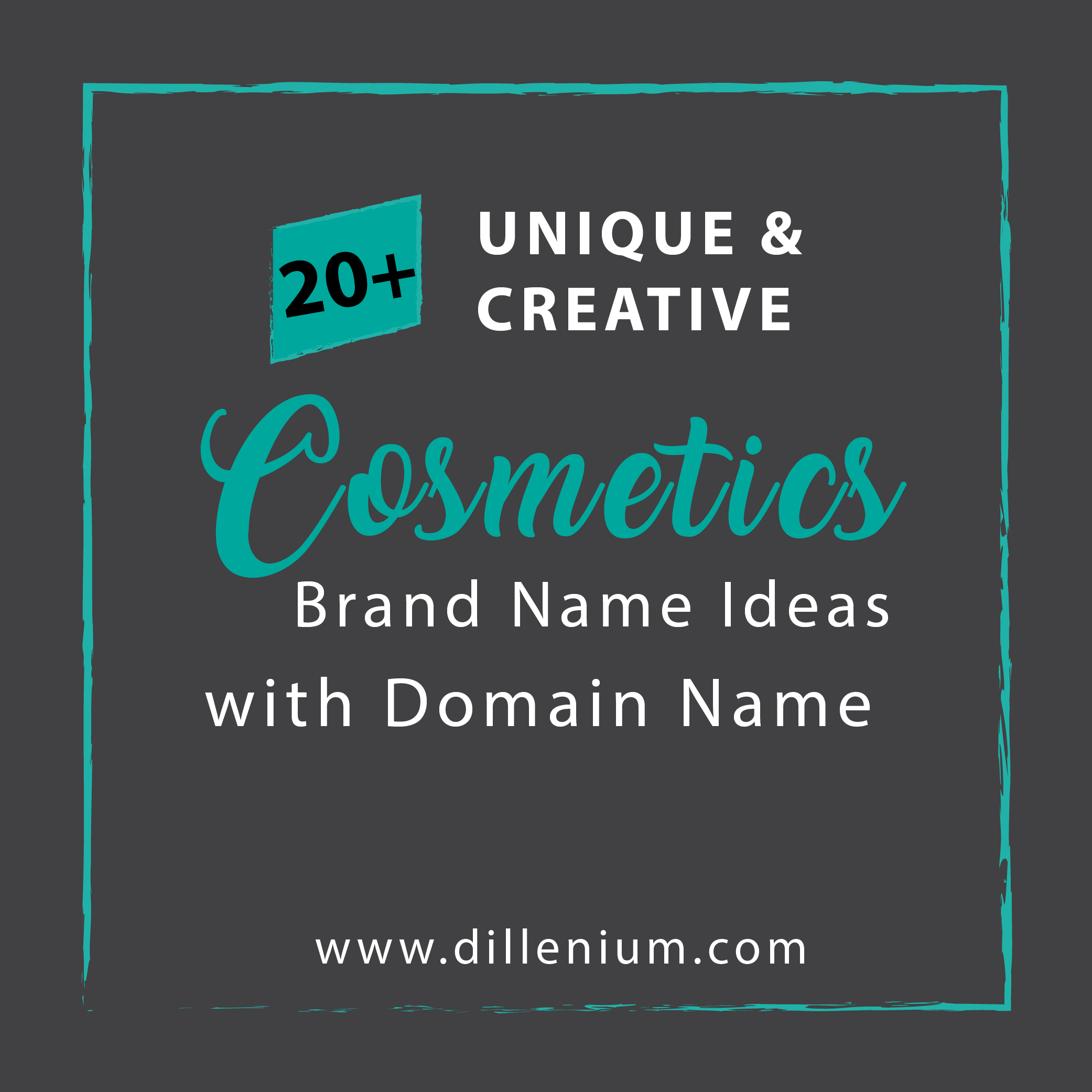 20 Cosmetic Brand Name Ideas With Available Domain Name Makeup