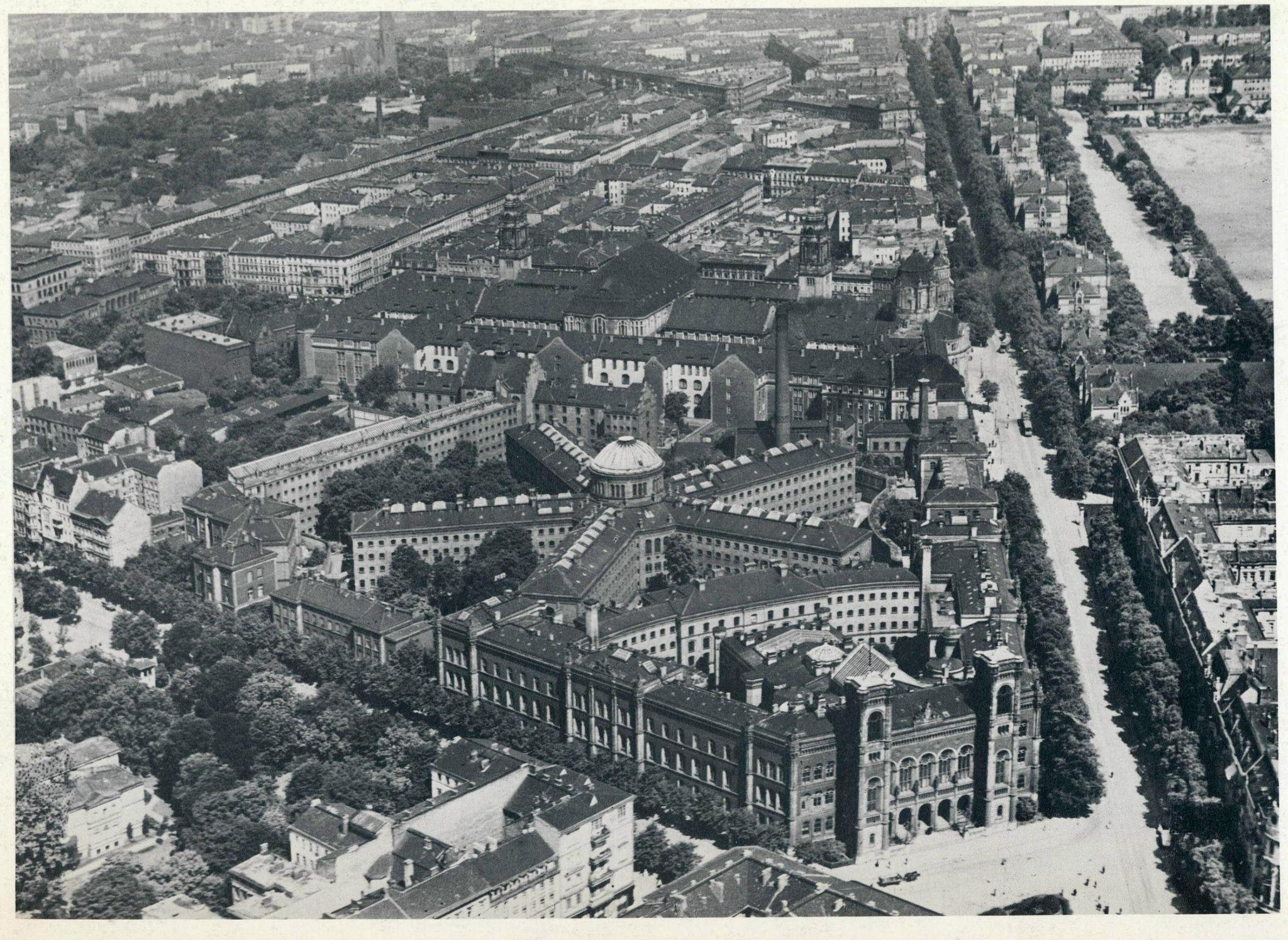 Historische Luftaufnahmen Berlin Moabit Justitzcentrum 1920 Berlin West Berlin Berlin Germany