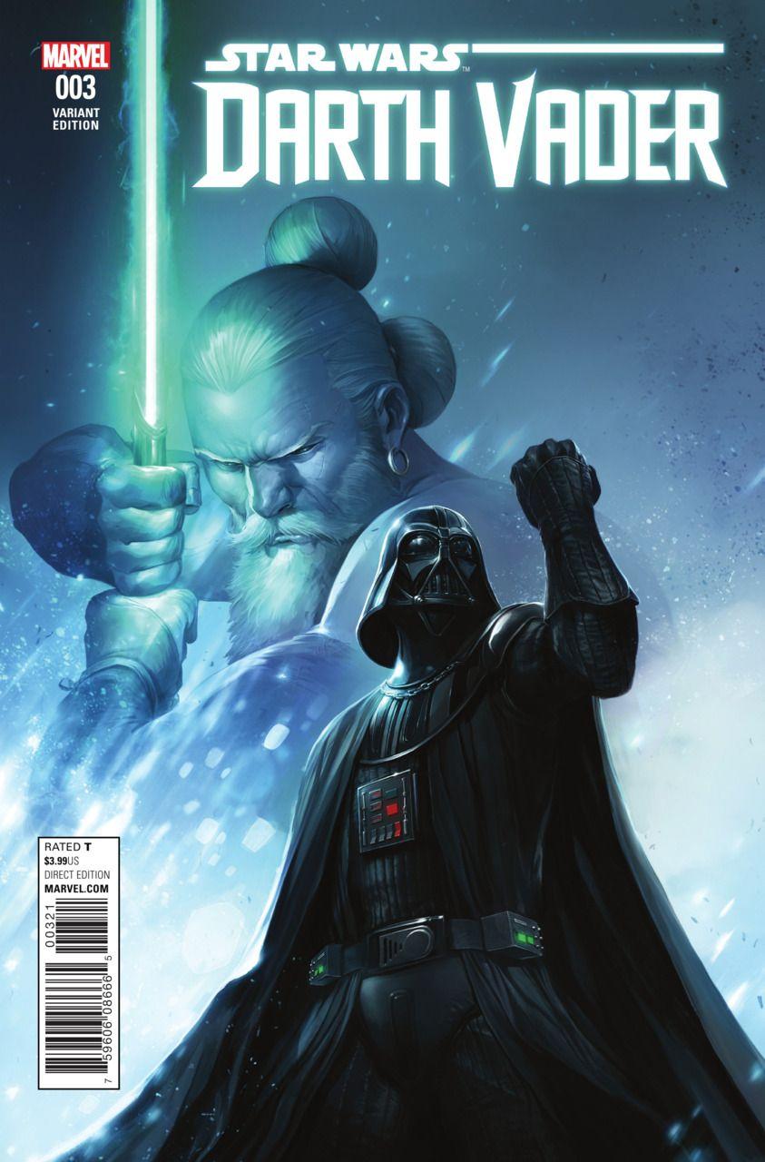 Star Wars Dath Vader #1 Fransesco Mattina Variant