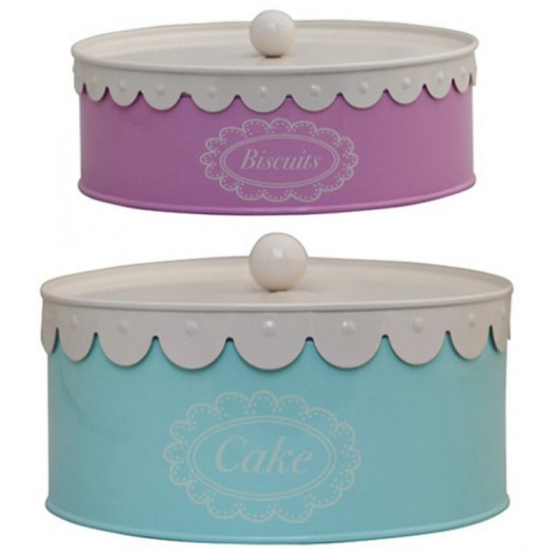 Cake Biscuit Scalloped Storage Tins Design 55 Cake Storage Scalloped Cake Biscuit Cake