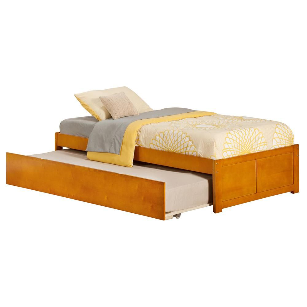 Atlantic Furniture Concord Twin Platform Bed With Flat Panel Foot
