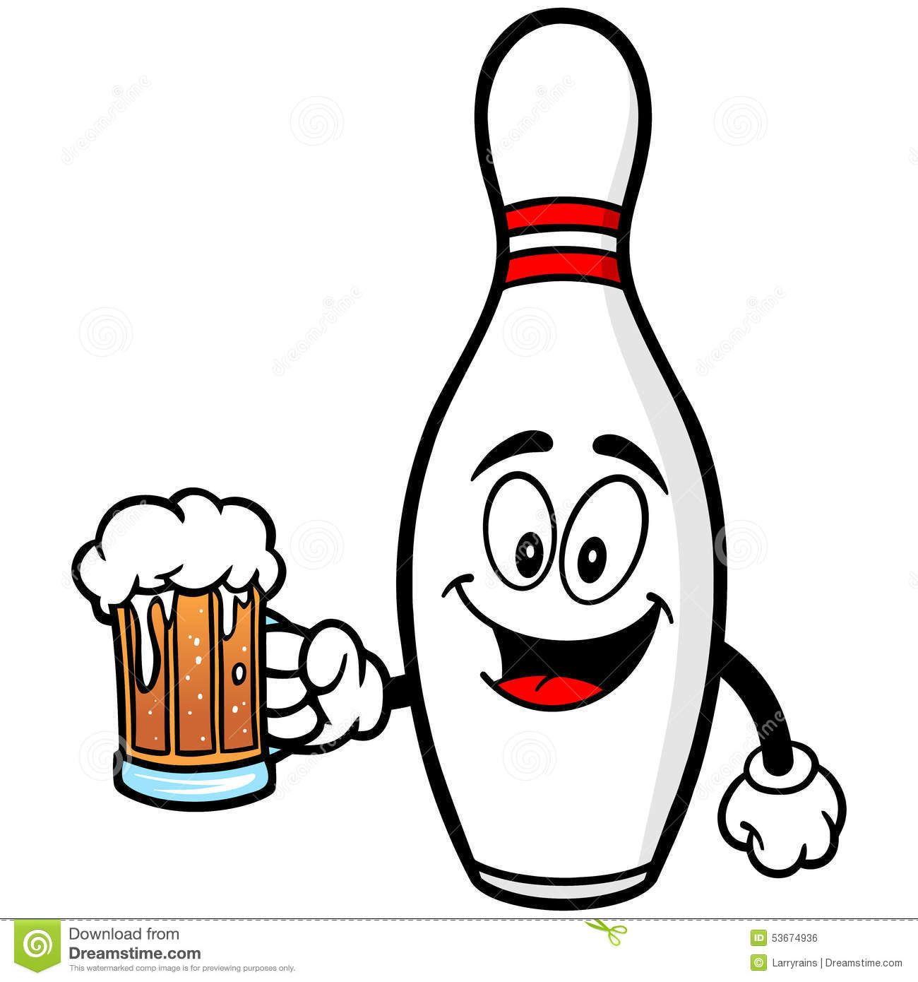 bowling pin with beer royalty free stock image inspiration pinterest rh pinterest com Laser Quest Laser Beam