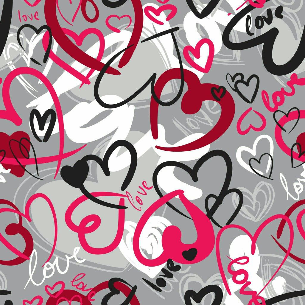 Love And Hearts Wallpaper Wallpapers Backgrounds Pinterest