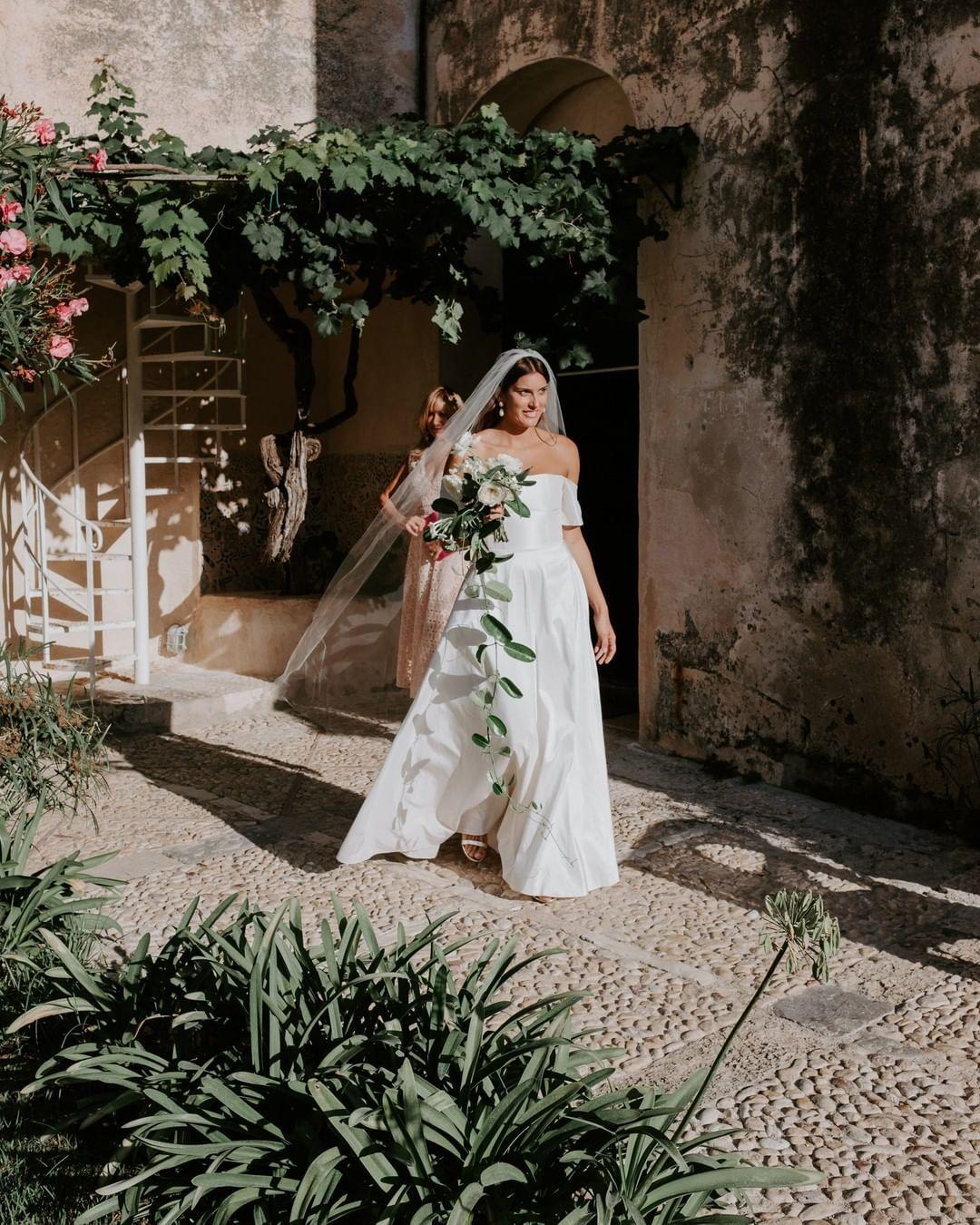 "Vogue Weddings On Instagram: ""@sophiemonet Looked Ethereal"