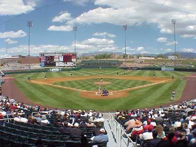 Albuquerque Isotopes Park Aaa Baseball Baseball Park Albuquerque Park