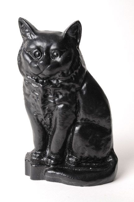 Standing Cat Roman Pudgy Pal Garden Figure 7.25 inches tall 75263