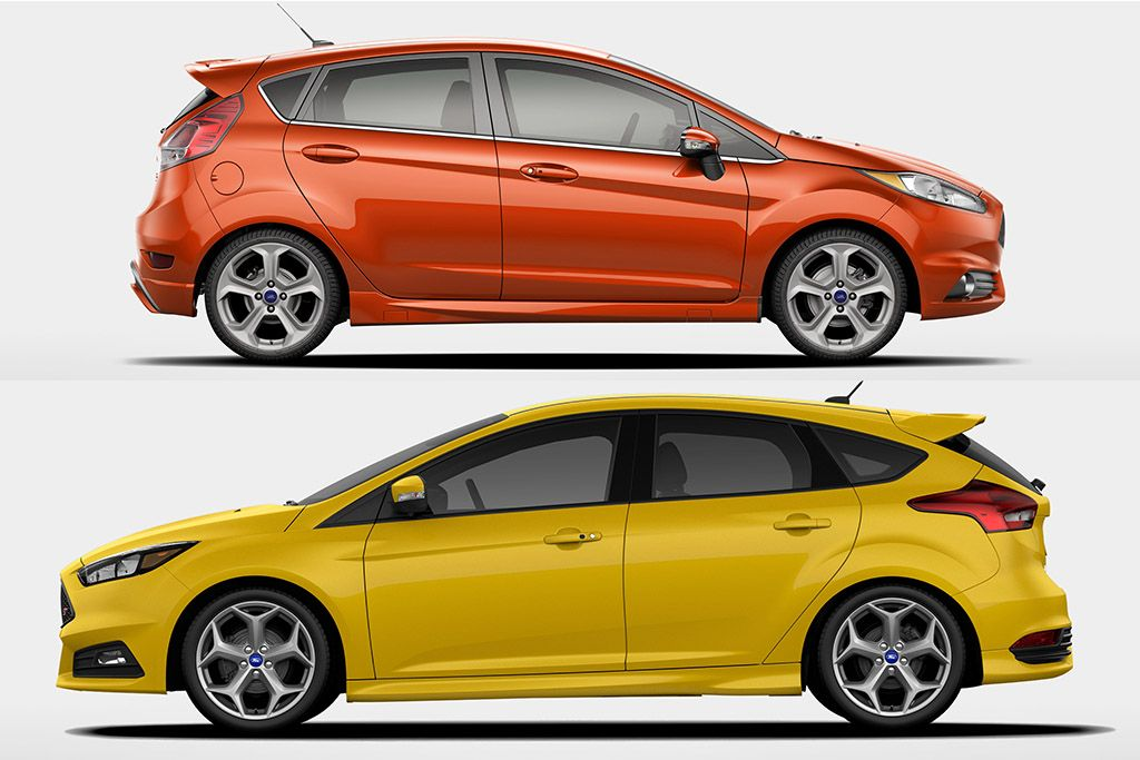 2018 Ford Focus Vs 2018 Ford Fiesta What S The Difference