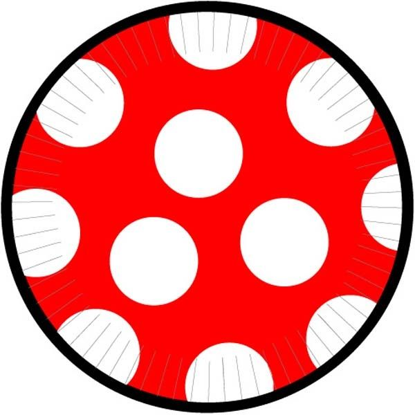 Mickey Mouse large polka dot paper plates  sc 1 st  Pinterest & Mickey Mouse large polka dot paper plates | Minnie and Mickey Mouse ...