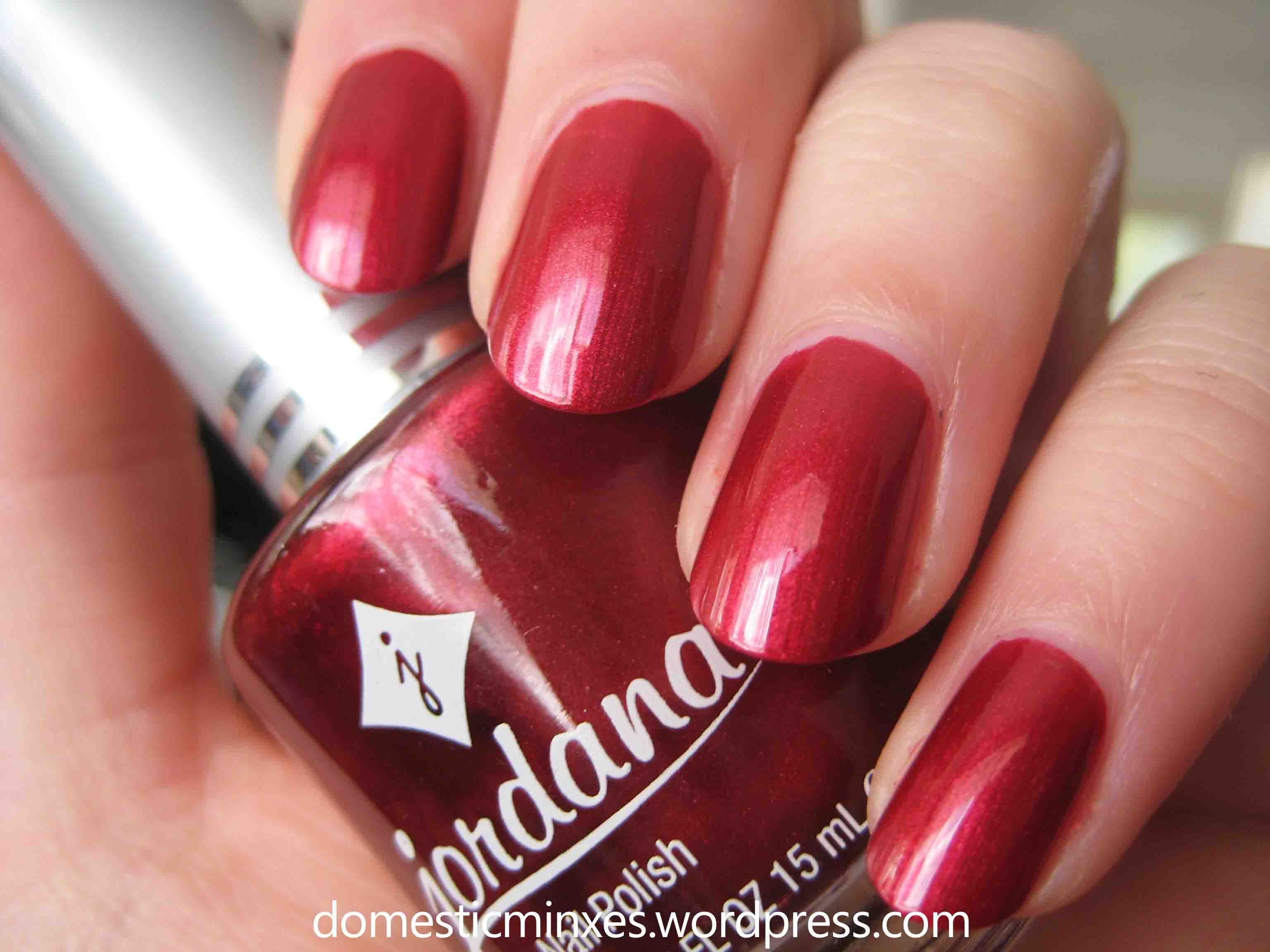 Jordana Ruby Red <1> | Nail Tips & Hacks | Pinterest | Ruby red