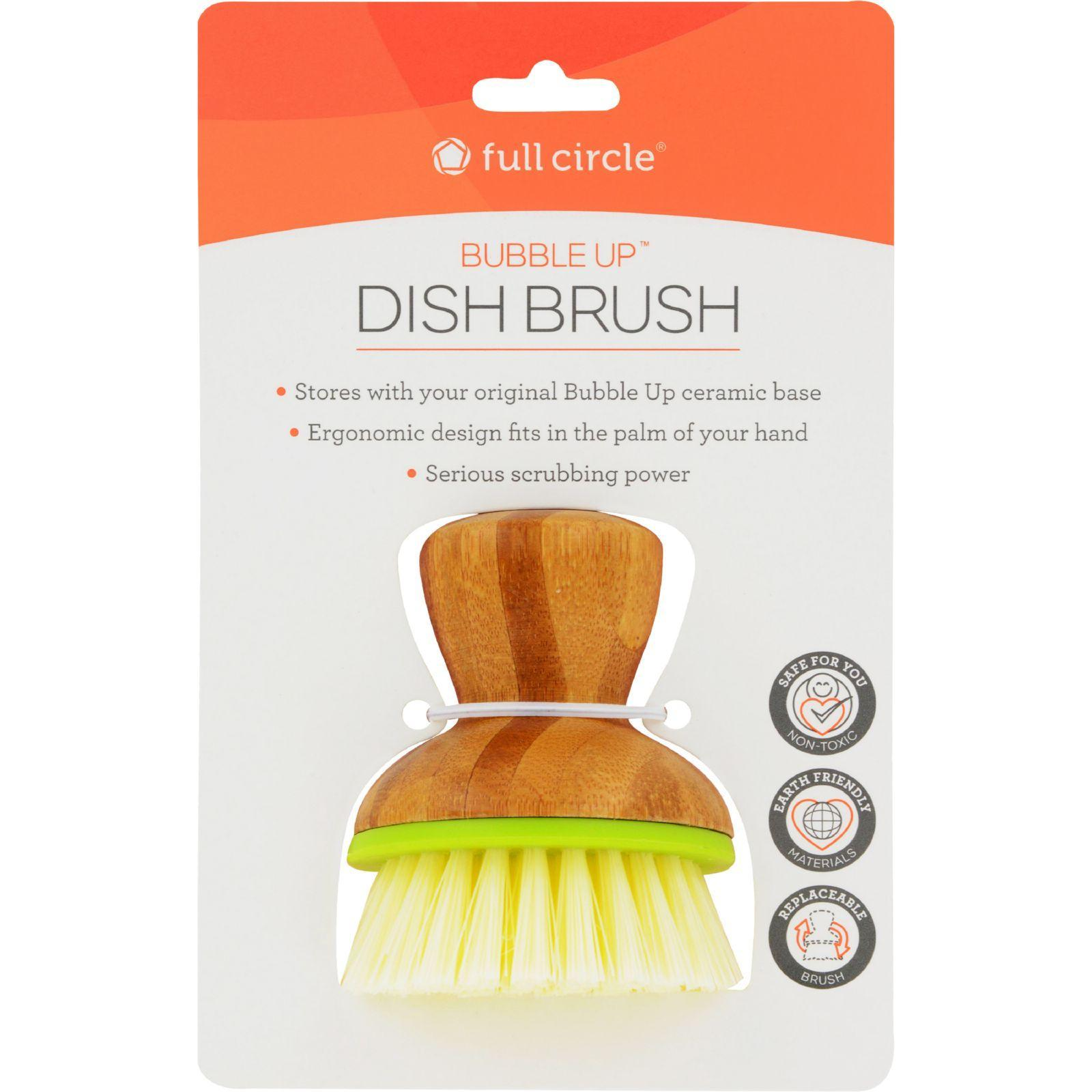 Full Circle Home Replacement Brush - Bubble Up Green - 6 Ct ...