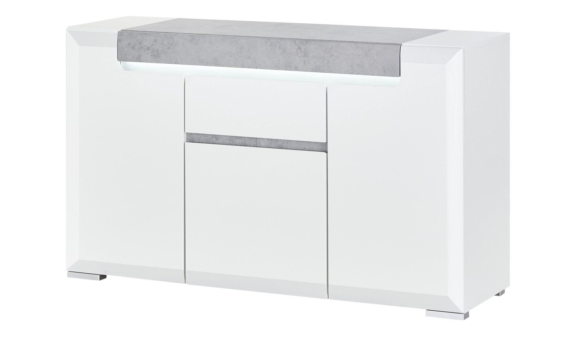 Sideboard Puro Breite 140 cm Höhe 84 cm weiß online